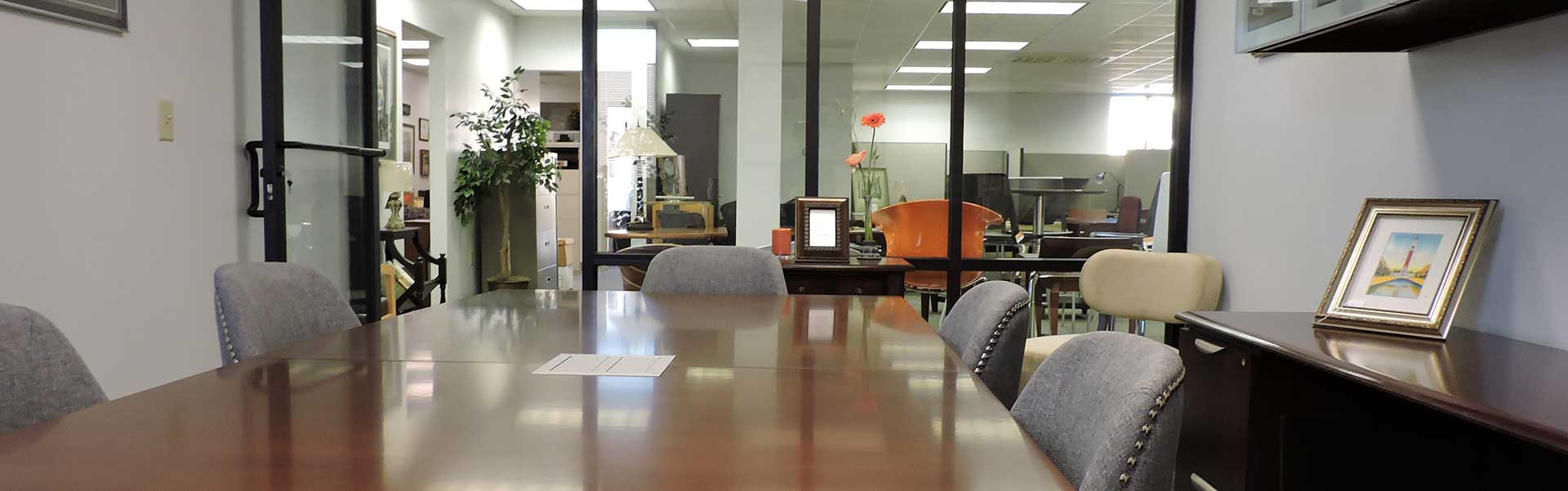 new office furniture showroom