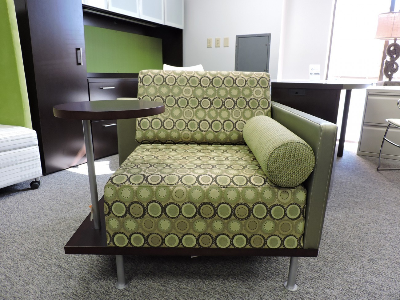 Green Patterned Chair And Table Combo In Richmond VA