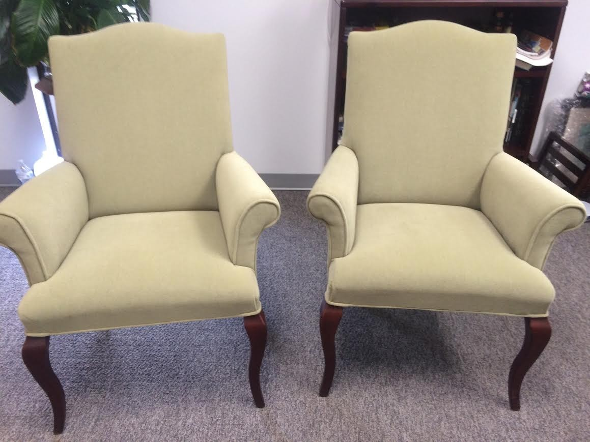 Ligth Green Jofco Traditional Guest Chair | Richmond Office Interiors