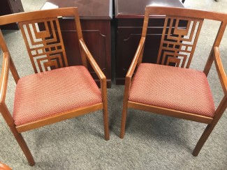 Light Cherry Side Chairs