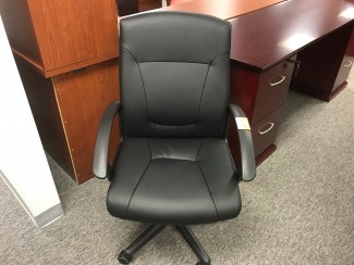 Mock Leather Conference Chair