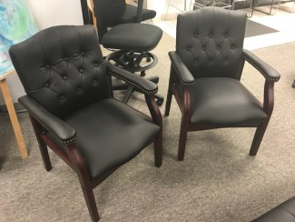 Black Traditional Chairs