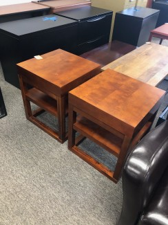 Light Cherry End Tables