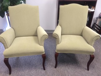 Light Green Jofco Traditional Guest Chairs