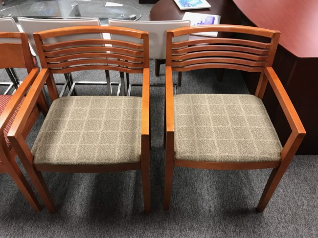 Cherry Wood Side Chairs