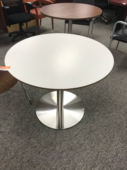 White Round Table
