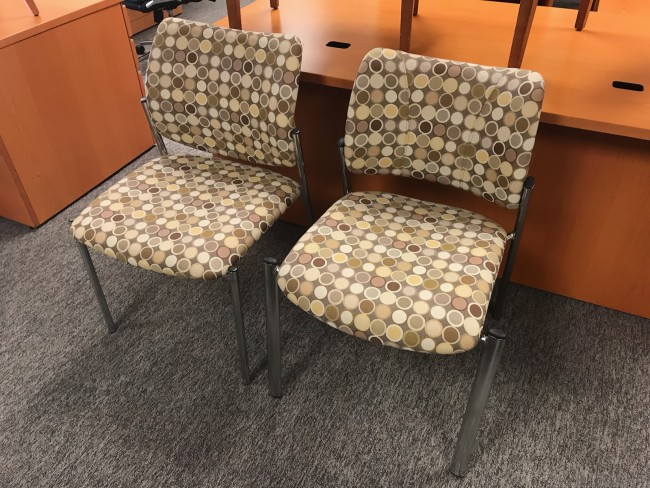 Circle Pattern Side Chairs