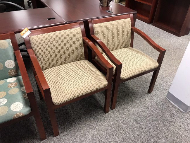 Dark Cherry Side Chairs