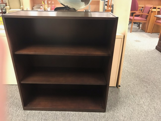 Dark Walnut Bookcase