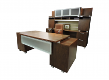 Desk and Credenza combo