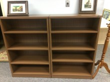 Walnut Bookshelves