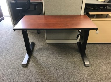 Cherry Height Adjustable Training Table