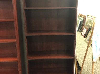 Dark Cherry Bookcase