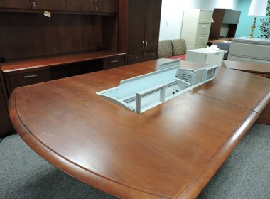 Conference Table with Plugin in Richmond VA